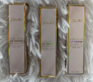 Jouer Lip Topper Tan Lines Long Wear Coconut Oil New