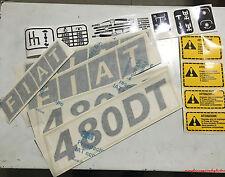 ADESIVI DECALCOMANIA TRATTORE FIAT 640DT
