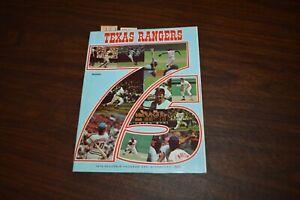 1975 Texas Rangers vs Boston Red Sox Souvenir Program Baseball Ticket Stubs
