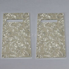 Trem Cover Back Plate for Electric Guitar Parts Pearl 3ply 2 Pcs
