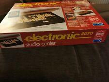 BUSCH Lernbaukasten Electronic  Studio Center 2070 u. 2072 mit Anleitungsbuch