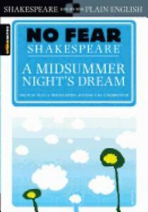 Midsummer Night's Dream Paperback William Shakespeare