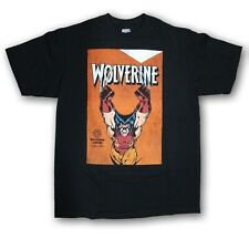 "Marvel Wolverine""Wolverine""Men's Black Short Sleeve Graphic Tee New Without Tags"