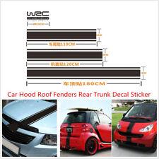 Car Racing Hoods Roof Tail Vinyl Stripe Graphics Performance Decoration Sticker
