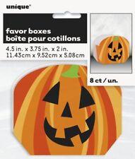 Halloween Pumpkin party favor boxes