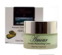 Dead Sea Minerals/Moisturizing Avocado Cream/Anti-Aging/Shemen Amour/50ml 1.7 fl
