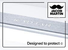 Brossé Autocollants / Protections pour seuils de porte Renault Kadjar