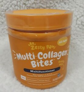 Zesty Paws Multi-Collagen For Joint, Skin&Antioxidant Support 90 Soft Chews 5/22
