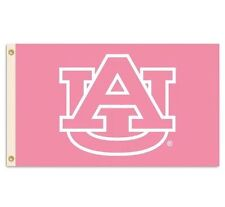NCAA Auburn Tigers Licensed Pink 3x5 Feet Polyester Sports Banner Flag