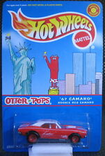 1:64 Hot Wheels Otter Pops 1967 Camaro(with twin tower on card) Special Edition