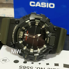 Casio HDC-700-3A Mens Analog-Digital Combination Green Resin Band Watch New 100M