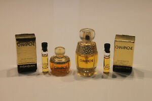 4 x YSL Champagne - Parfum Miniaturen