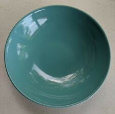 Bowl Serving Vintage! Aqua Color ~9 Inch Diameter No Name May21