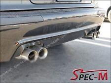 96-03 BMW E39 5-Series M5 Only 4Dr Carbon Fiber Rear Bumper Lip Diffuser