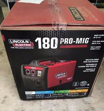 NEW Lincoln Electric 180 PRO MIG Flux Wire Feed Welder Welding K2481-1