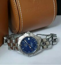 BREITLING Colt Ocean Blue Automatic A17350, 38mm, Steel Boxed