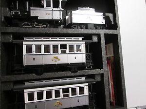 LGB 29151+47280 Personen-Zugset 120 Jahre LGB mit Güterwagen