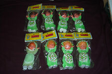"8pc NOS Dime Store Lot 7.5"" Karen Doll by PAX Canada 3 Variations Blond Brunette"