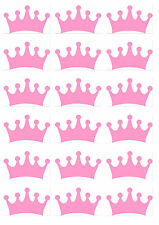 t shirt transfers* iron on* baby grow* vest * designs make your own  pink crowns