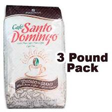 SANTO DOMINGO COFFEE 3LBS PER PACKAGE ROASTED BEAN DOMINICAN FRESH CAFE