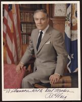 Alexander Haig Signed 8x10 Photo Signature Autographed Vintage