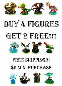 Skylanders Spyro's Adventure Figures Buy 4 Get 2 Free - $6 Minimum Purchase