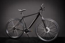 "29"" Zoll MIFA Fahrrad MTB Crossrad SHIMANO  Mountainbike Scheibenbremse schwarz"