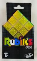 Rubiks Cube NEON Pop by Hasbro w/ Display Stand E6451 Game Toy Solve NEW