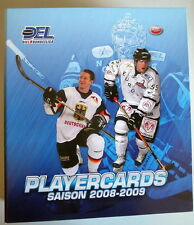 3 DEL Playercards 2008/09 Previev Ser. 1+2 - Trade & Play - Exclusive  aussuchen