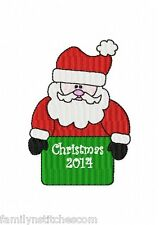 Christmas & Curlz Small Font 192 Embroidery Designs on multi-formatted CD
