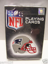 New England Patriots Football NFL Playing Cards Bicycle Brand NEW