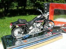 MAISTO 1/18 MOTO HARLEY DAVIDSON FXSTSB BAD BOY 1997!!