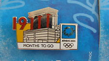 COUNTDOWN 19 MONTHS TO GO (ENGLISH) PALACE OF KNOSSOS - ATHENS 2004 OLYMPIC PIN