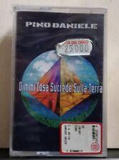 PINO DANIELE - DIMMI COSA SUCCEDE SULLA TERRA - MUSICASSETTA SIGILLATA 1997