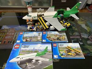 LEGO 60022 City Cargo Terminal 100% Complete With Instructions
