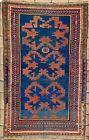 "6' x 3'8"" Antique Shirvan Style Carpet Caucasian Rug Kazak Handmade Oriental Rug"