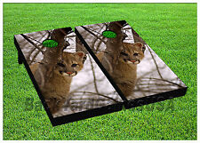 VINYL WRAPS Cornhole Boards DECALS BagToss Game Stickers 866