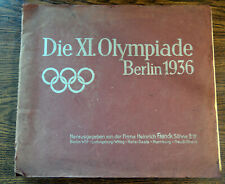 Berlin 1936 Book with Color Olympic Cards