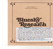 (FR996) Bluesky Research, True Spirit - 2006 DJ CD