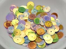 1000 Mixed Color Round Flower loose sequins Paillettes 10mm sewing Wedding craft
