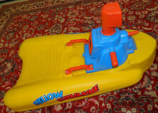 vintage FEBER sous marin jaune YELLOW SUBMARINE gelb U-BOAT jeux de piscine BOAT