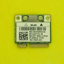 Used WorkingOEM Mini PCI-e Wireless Wifi Card Broadcom Dell DW1397 0FR016