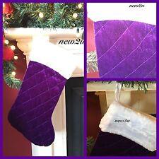 Purple Christmas Stockings | eBay