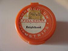 Medieval Life Series Knighthood School Filmstrip 1959 Curriculum Films