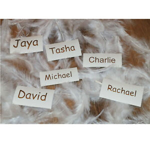 Comic sans MS 1 Personalised Name Vinyl stickers  Wine glass Hen Do