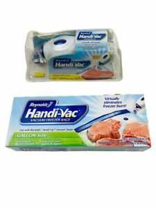 Reynolds Handy Vac & Bags New