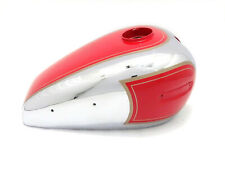 Petrol Fuel Tank For Ariel 350Cc Red Painted Chrome