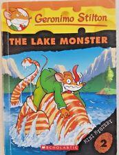 Geronimo Stilton,   #2 The Lake Monster,   Mini Mystery,   VG~SM~P/B~SCHOLASTIC