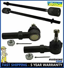 1995 - 2003 Ford Windstar 4 Pc Kit Front Inner & Outer Tie Rod Ends Left & Right
