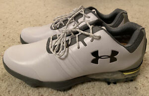 Under Armour Match Play Golf Shoes 3019893-101 White/Grey US 8-New